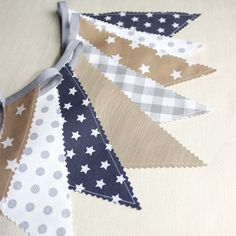 Bunting garland Flags banner Photography prop by PopelineDeco