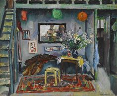 Max Weber / My Studio in Paris / 1907 / oil on canvas