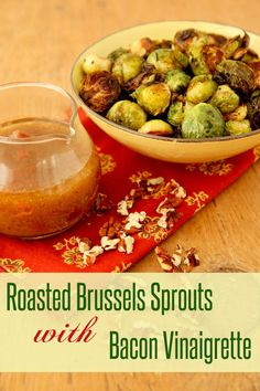 Brussels sprouts, smoky bacon,and toasty pecans.