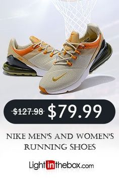4b10db29eb64 NIKE Mens and Women s Running Fitness casual Shoes Beige