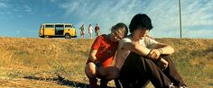 Abigail Bresnen and Paul Dano in Little Miss Sunshine