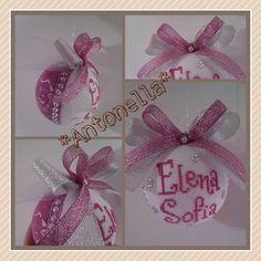 Pallina di Natale creata da me!! Elena Sofia