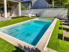 Riverbend Sandler Pools offers Geometric Pool Designs Dallas, Frisco and surrounding areas that homeowners can be proud of. Backyard Pool Landscaping, Backyard Pool Designs, Small Backyard Pools, Swimming Pools Backyard, Swimming Pool Designs, Backyard Ideas, Small Pool Design, Swiming Pool, Pool Builders