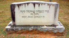 Thomas Conley, Son of Willie Conley born circa 1856. John J. Conley