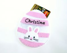 Easter egg gift card holder candy free gift alternative felt easter egg gift card holder candy free gift alternative felt gift card ornament easter egg ornament shop hometown usa pinterest black thread negle Image collections