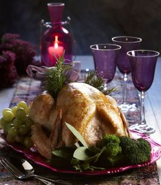 Christmas recipies: Turkey stuffed with fruits