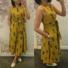 Ann Taylor Pineapple Belted Pocket Dress, size XS regular is part of Dresses - Kurta Designs Women, Blouse Designs, Dress Designs, Frock Dress, The Dress, Dress Skirt, Stylish Dresses, Fashion Dresses, Casual Dresses For Women