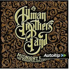 Midnight Rider: The Essential Collection by The Allman Brothers Band (CD, Spectrum Music (UK)) for sale online Allman Brothers Albums, Berry Oakley, Midnight Rider, Beautiful Handwriting, Gothic Aesthetic, The Jam Band, Hippie Art, Best Albums, The Essential