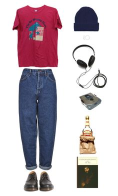 """""""Good to go"""" by origami-kitten ❤ liked on Polyvore featuring Boutique, Dr. Martens, Molami, Topshop, Jennifer Meyer Jewelry and LIST"""