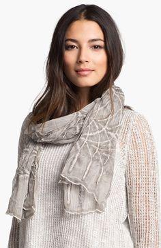 Eileen Fisher Textured Silk Scarf #Nordstrom $168 Item #685836, Item #687116