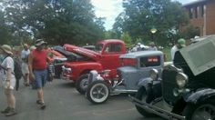 Car show at Loveland Loves BBQ, Bands & Brew (July 13-14, 2012). #Colorado #HeartBBQ