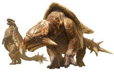 Apceros Art - Monster Hunter: World Art Gallery Alien Creatures, Wild Creatures, Prehistoric Creatures, Fantasy Creatures, Mythical Creatures, Creature Feature, Creature Design, Monster Hunter Wiki, Dragon Mythology