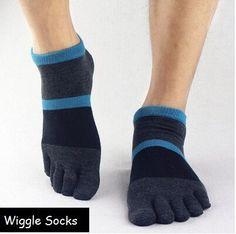 Wiggle Socks From Cerkos: Unisex Comfortable Toe Socks, Toe Separator Socks, Five Finger Socks, 5 Toe Socks, Toe Shoe Socks for Men/women (1 Pair, Dark Blue Black Ankle Socks) Wiggle Socks https://cerkos.com/collections/wiggle-socks/products/wiggle-socks-unisex-toe-socks-toe-separator-socks-five-finger-socks-5-toe-socks-5-finger-socks-toe-shoe-socks-dark-blue-black?variant=34005324163