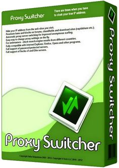 Proxy Switcher Pro 5.9.1 Crack And Serial Key Full Version Free Download