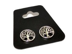 Tree of life SNAP button  mini snap  mini button  by LuckyBeadsBox