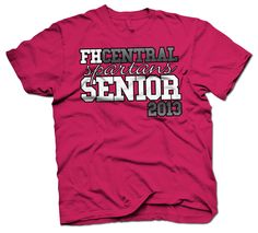 shirt kong shout out to the senior class of 2013 at francis howell central high shirt logo designstee - High School T Shirt Design Ideas