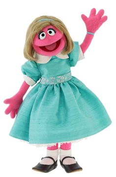 Prairie Dawn is a flustered, level-headed, seven-year-old Muppet girl on Sesame Street. She is famous for writing and directing school pageants featuring her friends, mostly Ernie, Bert, Herry, Grover, and Cookie Monster.