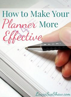Do you have a planner but still feel unorganized? Check out these awesome, simple tips on how to make your planner more effective!