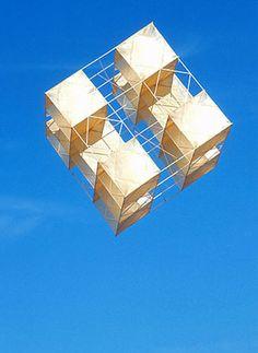 Estructura Volante. Serie cubos, 1976