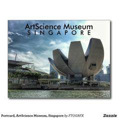 Postcard, ArtScience Museum, Singapore Postcard