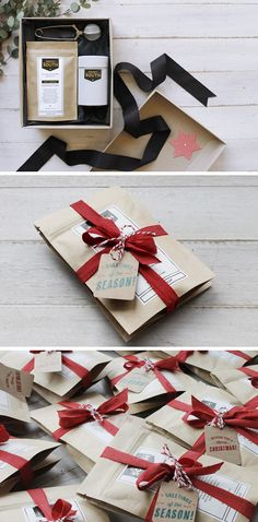 Beautifully packaged treats via. Zed & Bee