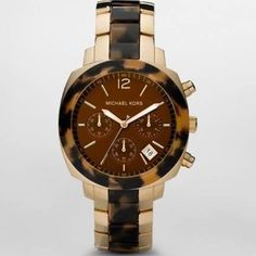 Michael Kors Watch Gold/Tortoise Authentic. Brand new. Final sale. No return. No exchange. Pls ask questions before purchasing. MICHAEL Michael Kors Jewelry
