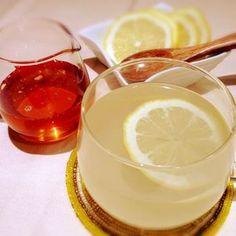 レモンとも相性がいいです。 ビタミンCも同時に摂れるので嬉しいですね。