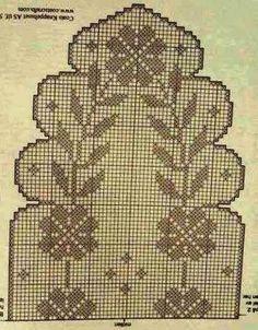 Kira scheme crochet: Scheme crochet no. 1557
