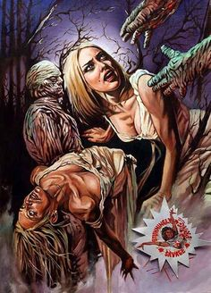 The Mummy's Shroud Artwork by Rick Melton Gothic Horror, Arte Horror, Horror Show, Horror Movies, Hammer Horror Films, Horror Themes, Horror Artwork, Zombie Art, Movie Poster Art