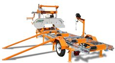 PORTABLE SAWMILL – BANDSAW MILL by Norwood Portable Sawmills #NorwoodSawmills