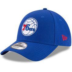 Men s New Era Royal Philadelphia 76ers Official Team Color 9FORTY Adjustable  Hat 84ee021c2ac9