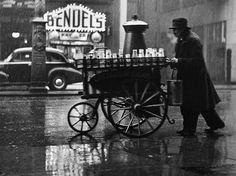 Milkman, Charing Cross Road, London, 1935