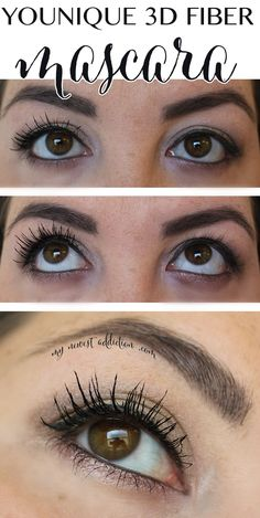 Younique 3D Fiber Mascara - My Newest Addiction. Get yours today visit my party http://www.youniqueproducts.com/christinegillis/party/350920/view
