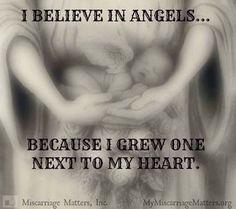 Angel grew next to my heart