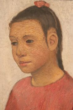 Paula Modersohn-Becker - Portrait of a Girl