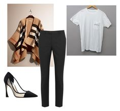 """""""4"""" by lancymapthesoul on Polyvore featuring Burberry, RED Valentino and Christian Dior"""