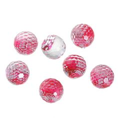 Check out 50 Pink Sequin Beads (no hole) Resin Mermaid Fish, 8mm Scale Dome Seals Cabochon Transparent Faceted Cabochon, 3887, 10a on vickysjewelrysupply