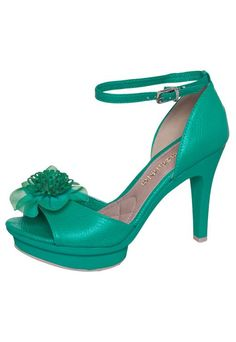 AZALEIA Green Flower Sandal - Buy Now | Dafiti