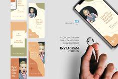 Creative podcast talk ig stories and post keynote template Instagram Design, Instagram Story, Instagram Posts, Company Presentation, Editing Pictures, Keynote Template, Design Bundles, Social Media, Creative