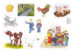 """Flanosagan """"Den tjocka pannkakan"""" är en härlig upprepningssaga som barnen gillar på förskolan etc. En omtyckt klassiker som kan höras om och om igen... Retelling, Inventions, Storytelling, Fairy Tales, Preschool, Comics, Creative, Kids, Crafts"""