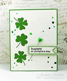 Waltzingmouse St. Patrick's Card
