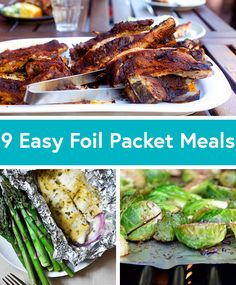 9 Foil Packet Recipes for Easy Summer Dinners