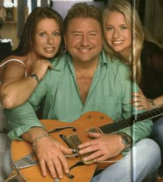 Greg Lake with wife Regina and daughter Natasha