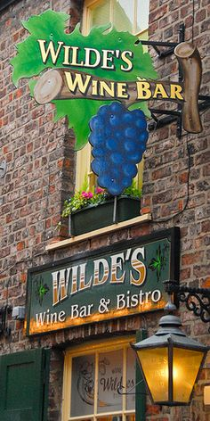 Wilde's Bistro, would love to open one with a floral shop and event planning center/ garden center boutique and greenhouse Planning Center, Event Planning, Cafe Bistro, Bistros, North Yorkshire, Restaurants, England, Design Ideas, Windows