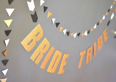 Your BRIDE TRIBE will be set to celebrate with these adorable decorations perfect for a bachelorette party! You will receive the following items