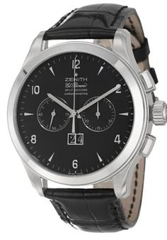 Zenith Grande Class Rattrapante Men's Automatic « Holiday Adds