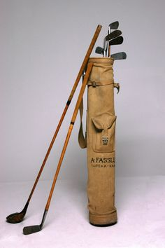 Vintage clubs, Golf -- http://pinterest.com/davidos193/essentials-men-s-accessories/
