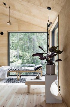 My dream house for the weekend designed by Choi Ping Wo and published in . No more then nature as art is needed. Always changing. Contemporary Interior Design, Home Interior Design, Exterior Design, Interior And Exterior, Modern Interior, Home Office Decor, Home Decor Bedroom, Bar Design, House Design