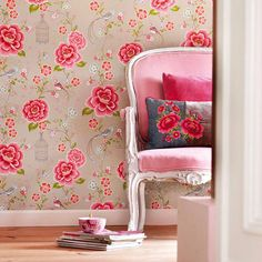 birds of paradise wallpaper by pip studio by fifty one percent | notonthehighstreet.com