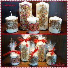 #henna #candles #homedecor #hennakaari